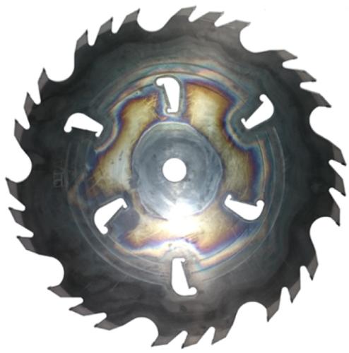 Пила дисковая ASPI (GASS) 450х38х4.8/3.2 z=24+6 Grizly для станка Гризли