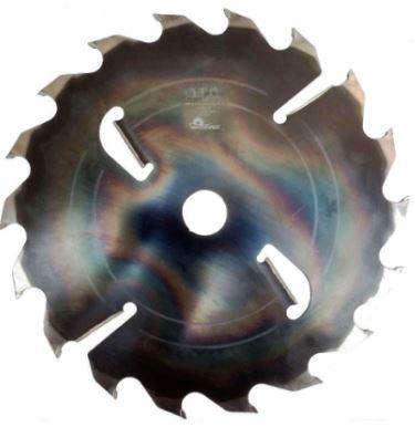 Пила дисковая ASPI (GASS) 405x55х4.4/3.0 z=18+4 для станка GRS-300