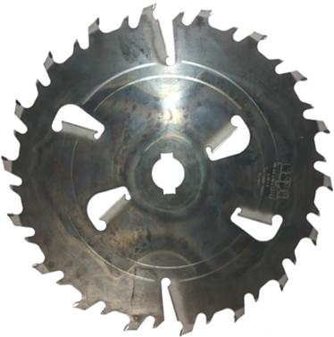 Пила дисковая ASPI (GASS) 500х50х5.2/3.5 z=18+6 для станка Гризли
