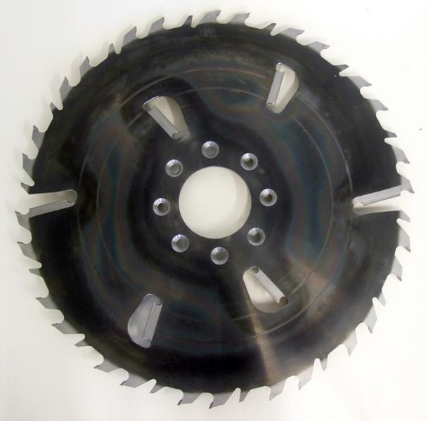 Пила дисковая ASPI (GASS) 550х30х5.5/3.5 z=24+6 для станка Тайга