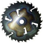 Пила дисковая ASPI (GASS) 560х80х5.5/3.5 z=32+6 для станка KRAFTER