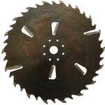 Пила дисковая ASPI (GASS) 630x35x5.8/3.8 Z24+6 для станка Гризли