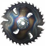 Пила дисковая ASPI (GASS)550x30x5.5/3.5 Z24+6 для углового станка БАРС