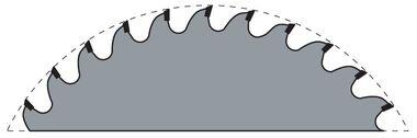 Стандартная форма зуба