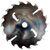 Пила дисковая ASPI (GASS) 300х75х3.7/2.5 z=24 ВА для станка Paul KME