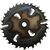 Пила дисковая ASPI (GASS) 550х50х5.5/3.5 z=24+6 для станка Алтай Тополь 450