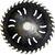 Пила дисковая ASPI (GASS) 350х75х3.9/2.5 z=24 BA для станка Paul KME